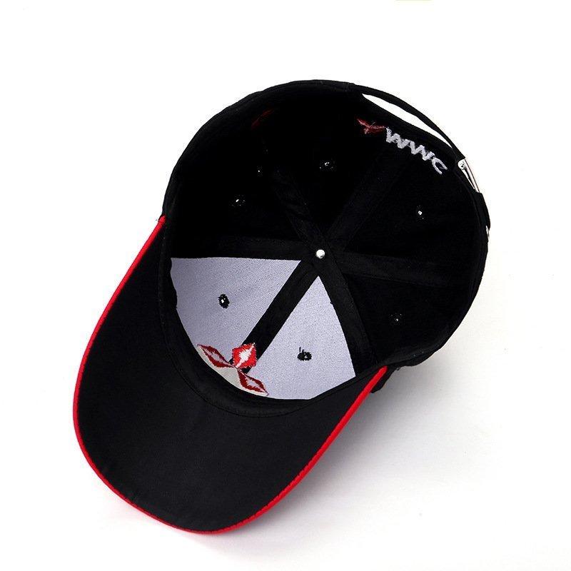 New 3D Logo Mitsubishi Hat Car Caps Motogp Moto Racing F1 Baseball Cap Men Women Adjustable Casual Trucker Hat Wholesale Retail 9