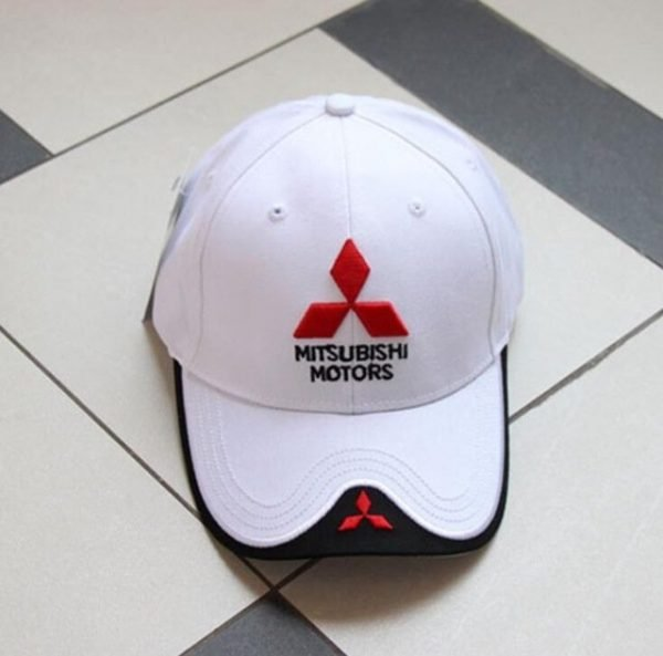 New 3D Logo Mitsubishi Hat Car Caps Motogp Moto Racing F1 Baseball Cap Men Women Adjustable Casual Trucker Hat Wholesale Retail 14
