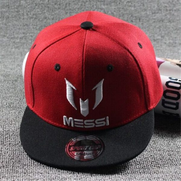 New Arrival Kids  MESSI Embroidery Cotton Snapback Caps Hip Hop Hats Boys&Girls Children Cartoon Baseball Cap Hat Bone 16