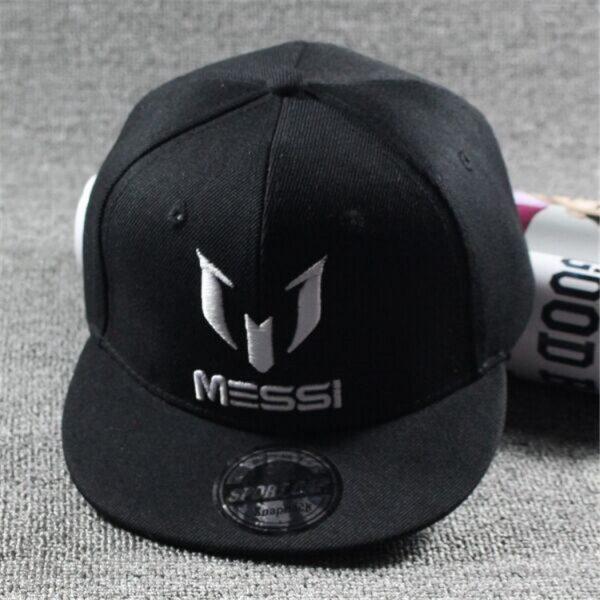 New Arrival Kids  MESSI Embroidery Cotton Snapback Caps Hip Hop Hats Boys&Girls Children Cartoon Baseball Cap Hat Bone 6