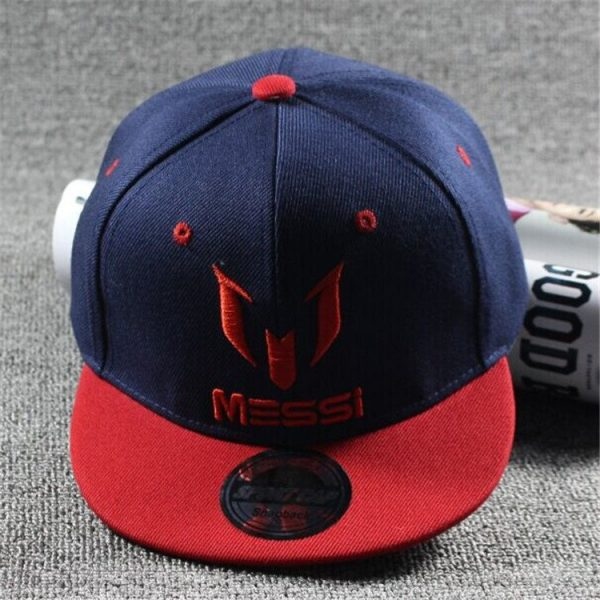 New Arrival Kids  MESSI Embroidery Cotton Snapback Caps Hip Hop Hats Boys&Girls Children Cartoon Baseball Cap Hat Bone 10