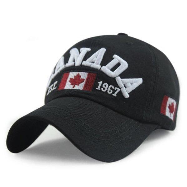 New Arrivals Cotton Gorras Canada Cap Flag Of Canada Hat Snapback Adjuatable Mens Baseball Caps Brand New For Adult 16