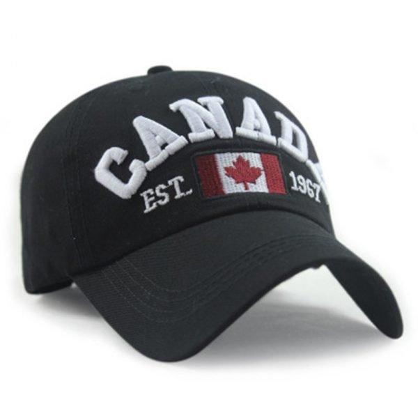 New Arrivals Cotton Gorras Canada Cap Flag Of Canada Hat Snapback Adjuatable Mens Baseball Caps Brand New For Adult 6