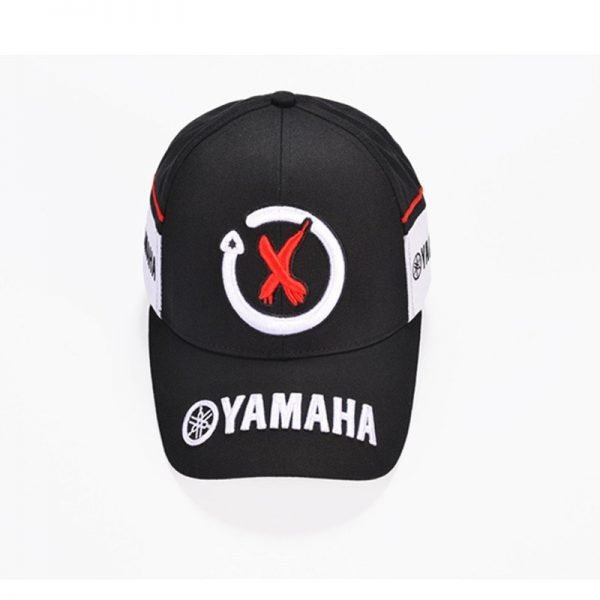 New Black Red F1 racing cap Car Motocycle Racing MOTO GP VR 99 rossi Embroidery hiphop cotton trucker Yamaha Baseball Cap Hat 4