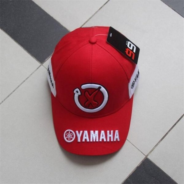 New Black Red F1 racing cap Car Motocycle Racing MOTO GP VR 99 rossi Embroidery hiphop cotton trucker Yamaha Baseball Cap Hat 16