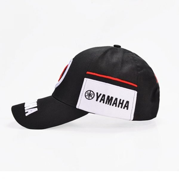 New Black Red F1 racing cap Car Motocycle Racing MOTO GP VR 99 rossi Embroidery hiphop cotton trucker Yamaha Baseball Cap Hat 6