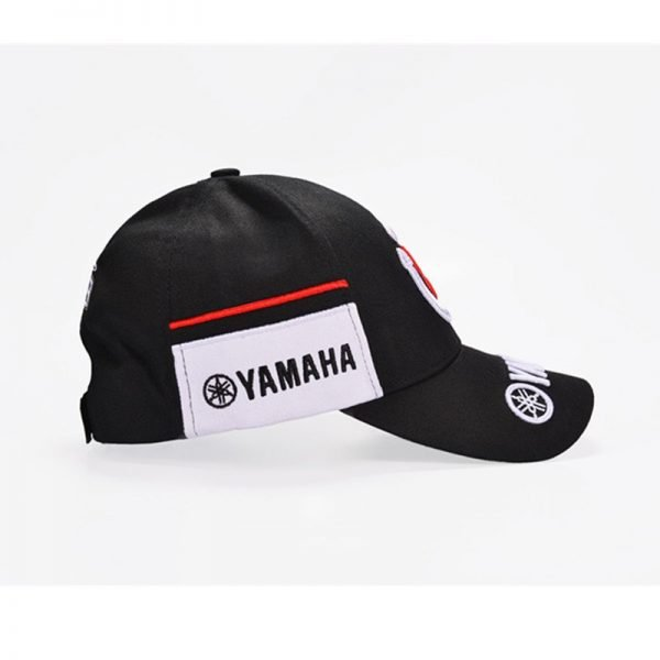 New Black Red F1 racing cap Car Motocycle Racing MOTO GP VR 99 rossi Embroidery hiphop cotton trucker Yamaha Baseball Cap Hat 8