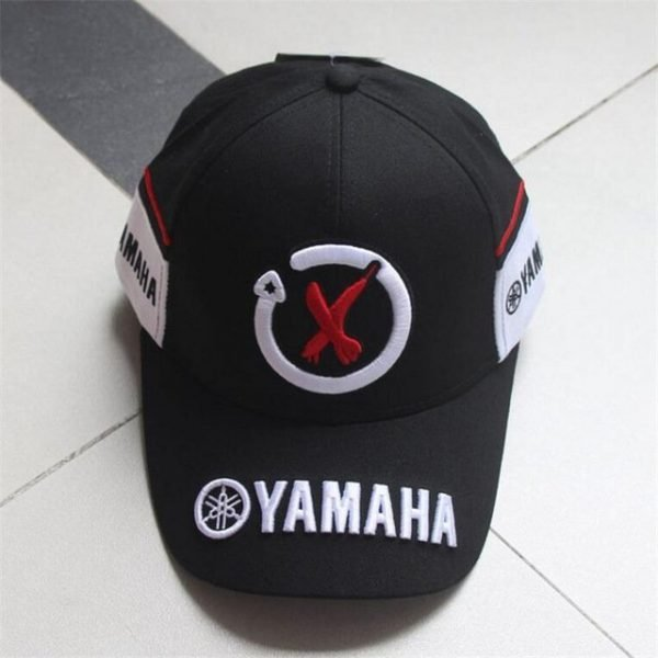 New Black Red F1 racing cap Car Motocycle Racing MOTO GP VR 99 rossi Embroidery hiphop cotton trucker Yamaha Baseball Cap Hat 14