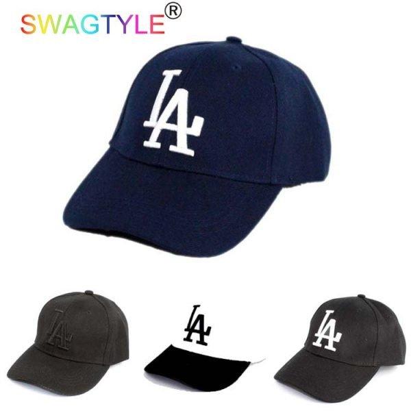 New LA Baseball Cap Adjustable Sun Hat Cotton Snapback Cap Women Men Street Skateboard Hip Hop Bone Icon Cap Men Women K-pop Hat 4