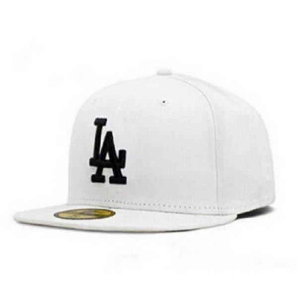 New LA Baseball Cap Adjustable Sun Hat Cotton Snapback Cap Women Men Street Skateboard Hip Hop Bone Icon Cap Men Women K-pop Hat 34