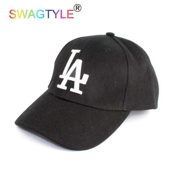 New LA Baseball Cap Adjustable Sun Hat Cotton Snapback Cap Women Men Street Skateboard Hip Hop Bone Icon Cap Men Women K-pop Hat 6