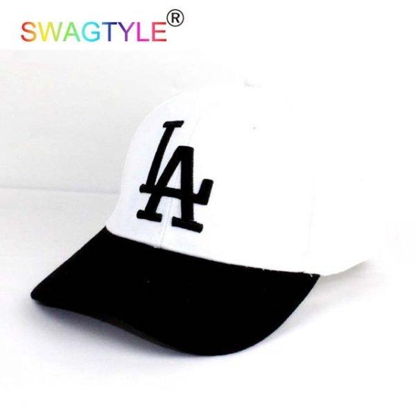 New LA Baseball Cap Adjustable Sun Hat Cotton Snapback Cap Women Men Street Skateboard Hip Hop Bone Icon Cap Men Women K-pop Hat 18