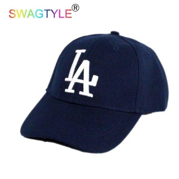 New LA Baseball Cap Adjustable Sun Hat Cotton Snapback Cap Women Men Street Skateboard Hip Hop Bone Icon Cap Men Women K-pop Hat 10