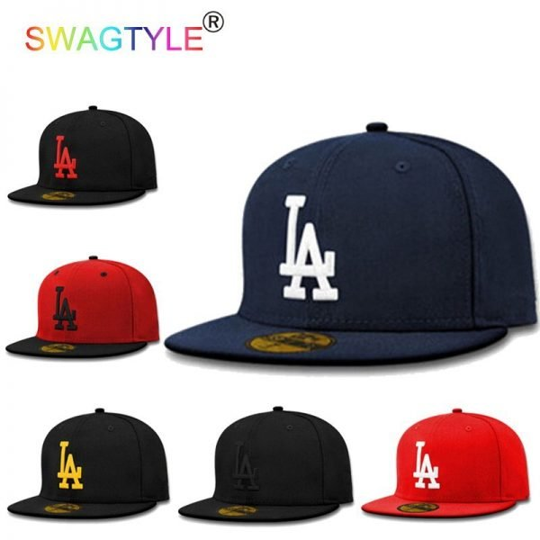 New LA Baseball Cap Adjustable Sun Hat Cotton Snapback Cap Women Men Street Skateboard Hip Hop Bone Icon Cap Men Women K-pop Hat 2