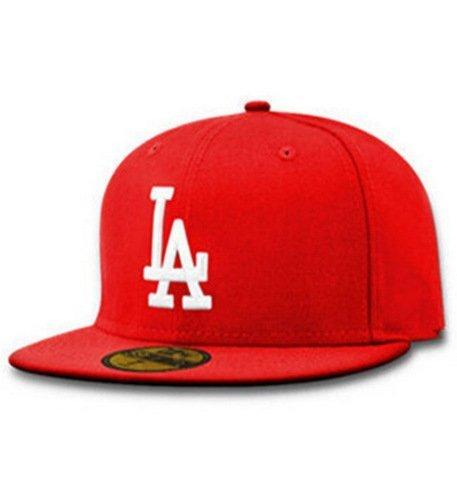 New LA Baseball Cap Adjustable Sun Hat Cotton Snapback Cap Women Men Street Skateboard Hip Hop Bone Icon Cap Men Women K-pop Hat 28