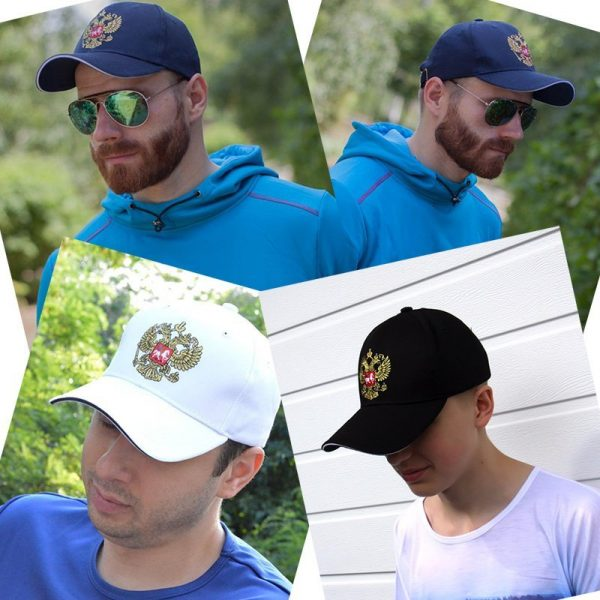 PINMI 2017 White Baseball Cap Men Women 100% Cotton Golden Thread Embroidery Snapback Caps Casual Outdoor Summer Dad Hat for Men 6