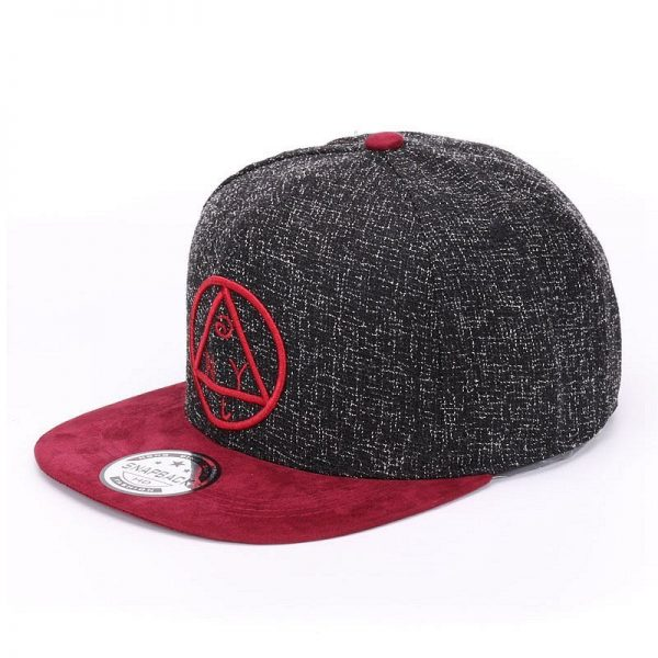 Quality Snapback cap NY round triangle embroidery brand flat brim baseball cap youth hip hop cap and  hat for boys and girls 4