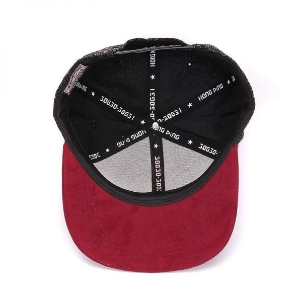 Quality Snapback cap NY round triangle embroidery brand flat brim baseball cap youth hip hop cap and  hat for boys and girls 12
