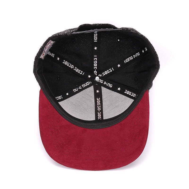Quality Snapback cap NY round triangle embroidery brand flat brim baseball cap youth hip hop cap and  hat for boys and girls 11