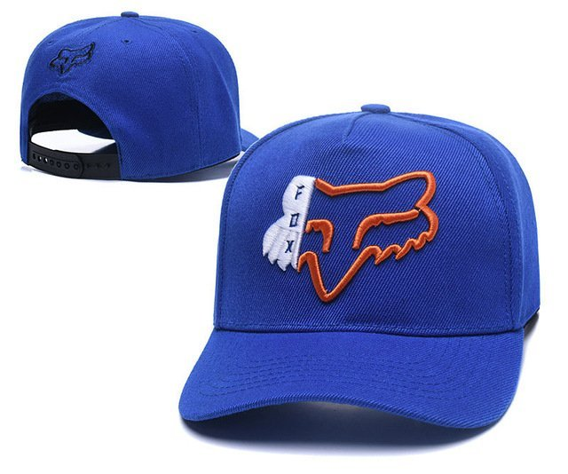 RUNMEIFA New Racing Cap Solid Color Fox Pattern Print Canvas Cap For Adult Outdoor Sports Adjustable Basketball Hat Casquette 53