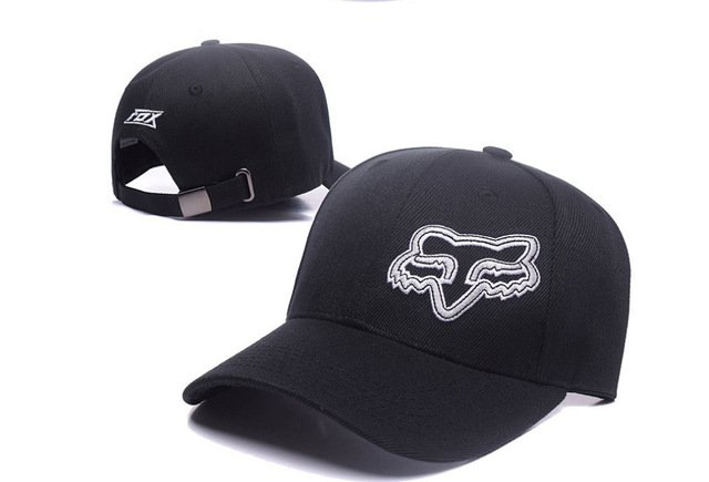 RUNMEIFA New Racing Cap Solid Color Fox Pattern Print Canvas Cap For Adult Outdoor Sports Adjustable Basketball Hat Casquette 21