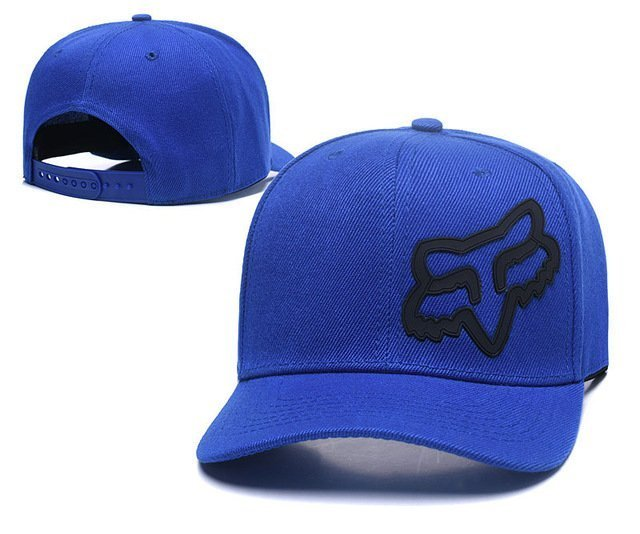 RUNMEIFA New Racing Cap Solid Color Fox Pattern Print Canvas Cap For Adult Outdoor Sports Adjustable Basketball Hat Casquette 23