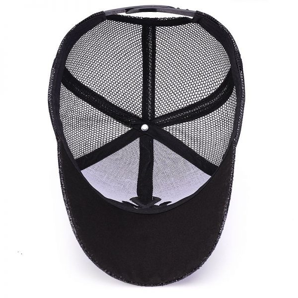 New Branded Baseball Caps Canada Women's Cap With Mesh Bone Hip Hop Lady Embroidery Hats Sequins RC1134 12