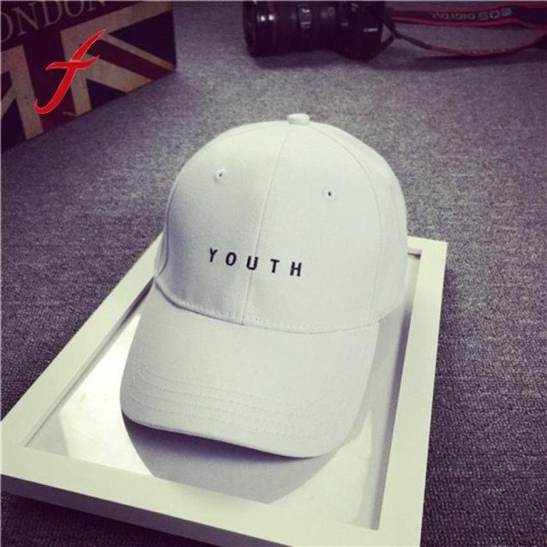 Brand New Cotton Mens Hat Youth Letter Print Unisex Women Men Hats Baseball Cap Snapback Casual Caps 4