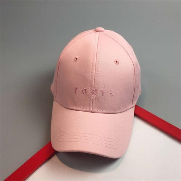 Brand New Cotton Mens Hat Youth Letter Print Unisex Women Men Hats Baseball Cap Snapback Casual Caps 18