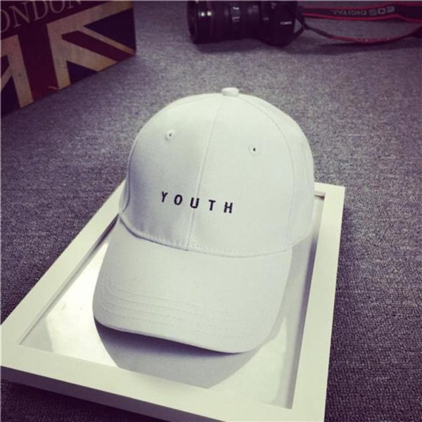 Brand New Cotton Mens Hat Youth Letter Print Unisex Women Men Hats Baseball Cap Snapback Casual Caps 14
