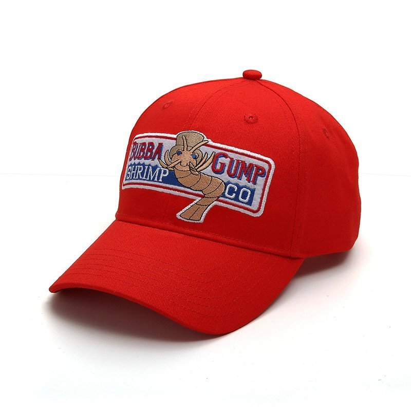 Bubba Gump Shrimp CO Hat Forrest Gump Costume Embroidered Snapback Cap Hot
