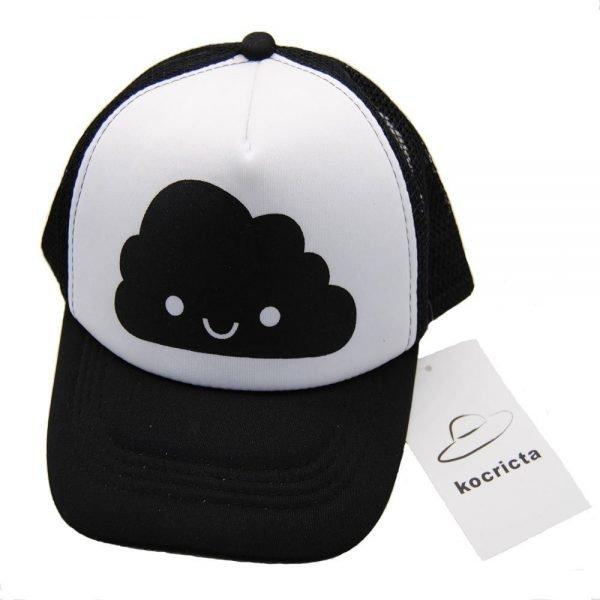 Toddler Baby Black and White Baseball Cap Kids Cute  Ear  Summer Mesh Sun Hat  Child  Boys and Girls Trucker Flat Caps 10