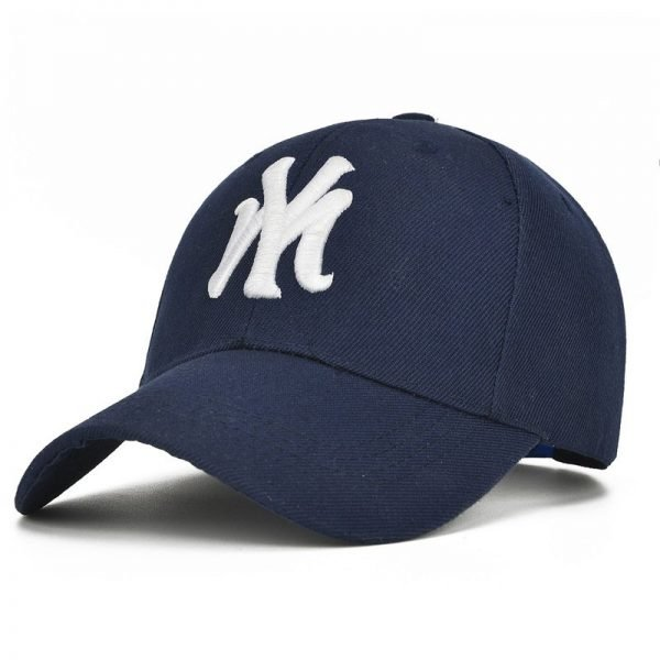 Unisex Cotton Baseball Cap NY Men&Women Snapback Cool Sun Hat Letter Adjustable Casquette Bone Cap Male Sport Bone Gorras Cap 4