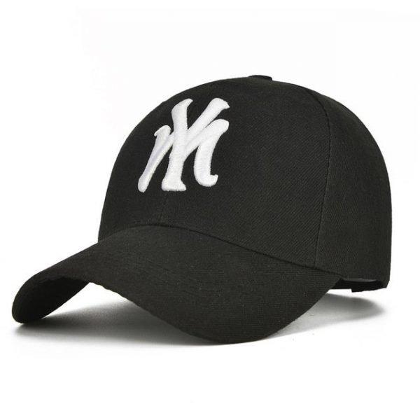 Unisex Cotton Baseball Cap NY Men&Women Snapback Cool Sun Hat Letter Adjustable Casquette Bone Cap Male Sport Bone Gorras Cap 16