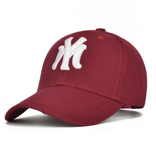 Unisex Cotton Baseball Cap NY Men&Women Snapback Cool Sun Hat Letter Adjustable Casquette Bone Cap Male Sport Bone Gorras Cap 8