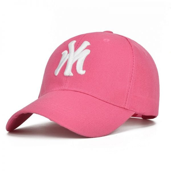 Unisex Cotton Baseball Cap NY Men&Women Snapback Cool Sun Hat Letter Adjustable Casquette Bone Cap Male Sport Bone Gorras Cap 10