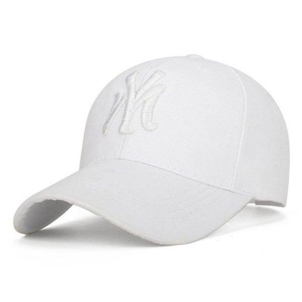 Unisex Cotton Baseball Cap NY Men&Women Snapback Cool Sun Hat Letter Adjustable Casquette Bone Cap Male Sport Bone Gorras Cap 14