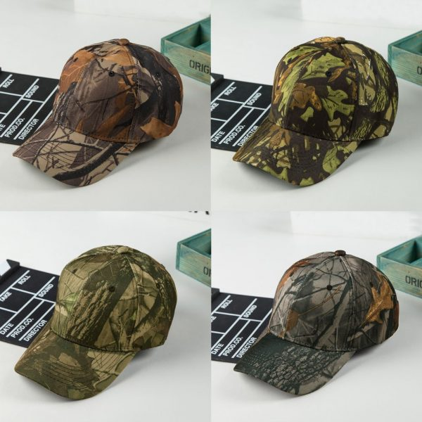 Unisex Snapback Camouflage Wild Hiking Army Camo Cap Tactical  Adjustable Baseball Cap Hat gorra casquette for men and women 4
