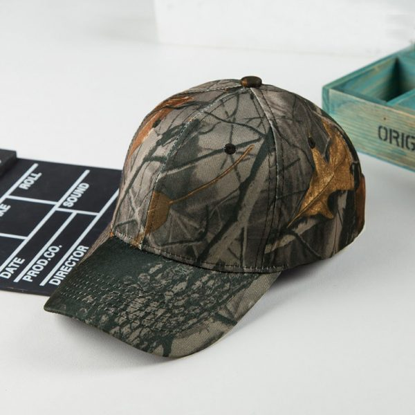 Unisex Snapback Camouflage Wild Hiking Army Camo Cap Tactical  Adjustable Baseball Cap Hat gorra casquette for men and women 8