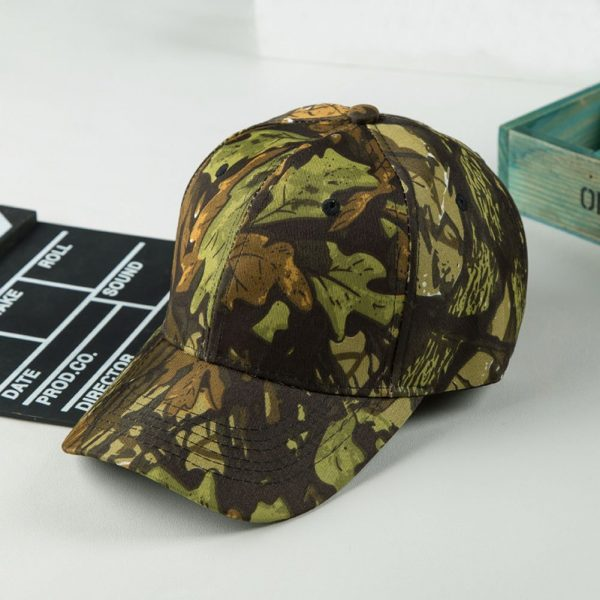 Unisex Snapback Camouflage Wild Hiking Army Camo Cap Tactical Adjustable Baseball Cap Hat gorra casquette for men and women 10