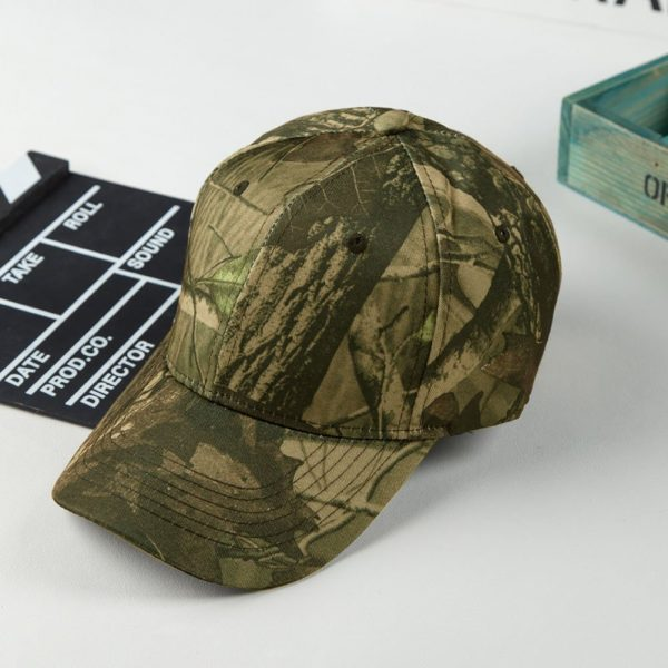 Unisex Snapback Camouflage Wild Hiking Army Camo Cap Tactical Adjustable Baseball Cap Hat gorra casquette for men and women 12