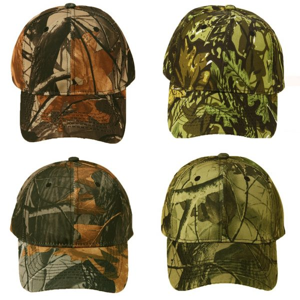 Unisex Snapback Camouflage Wild Hiking Army Camo Cap Tactical  Adjustable Baseball Cap Hat gorra casquette for men and women 2