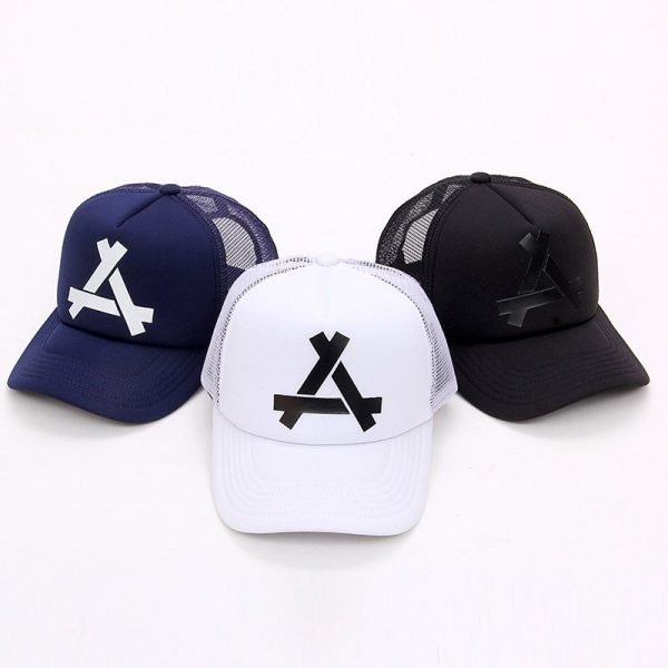 New Summer Baseball Mesh Golf Cap Cap Snapback Hat Fashionable Polo Sports Hiphop Trucker Hat God Men Women Cap 6