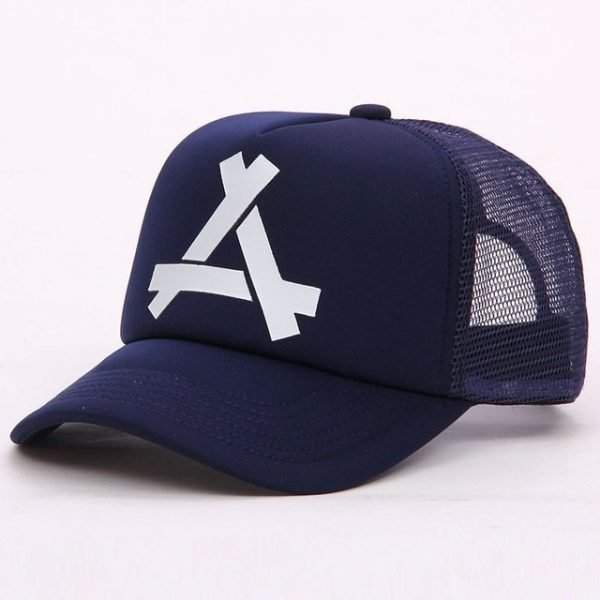 New Summer Baseball Mesh Golf Cap Cap Snapback Hat Fashionable Polo Sports Hiphop Trucker Hat God Men Women Cap 18