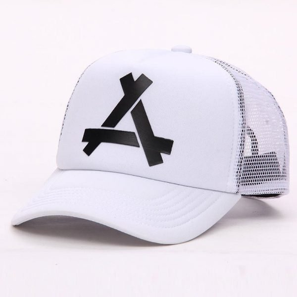 New Summer Baseball Mesh Golf Cap Cap Snapback Hat Fashionable Polo Sports Hiphop Trucker Hat God Men Women Cap 8