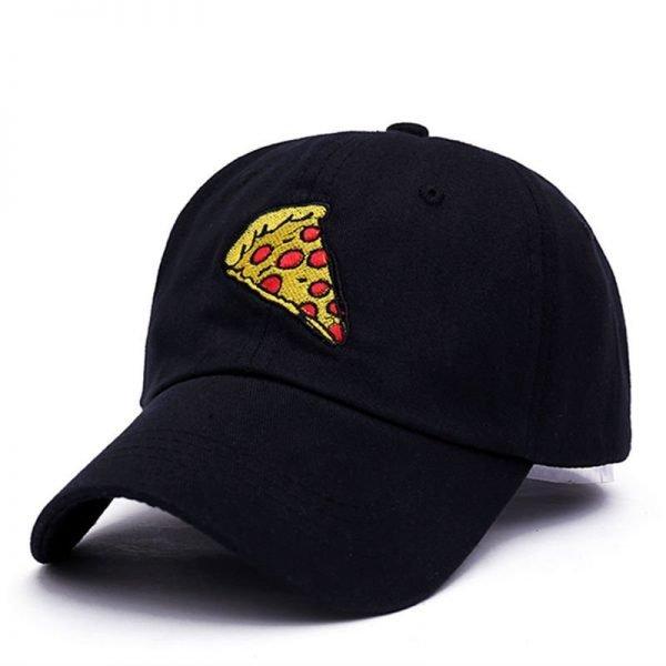 VORON new pizza embroidery dad cap Trucker cotton Hat For Women Men Adjustable Size Baseball Cap 4