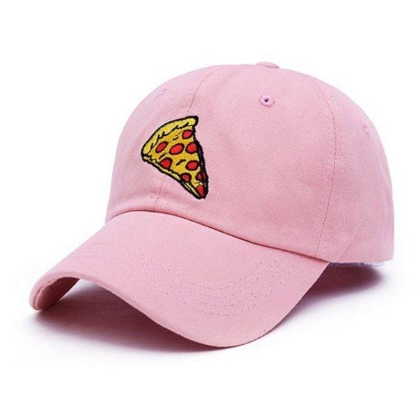 VORON new pizza embroidery dad cap Trucker cotton Hat For Women Men Adjustable Size Baseball Cap 18