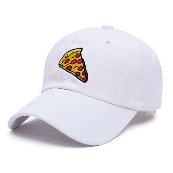 VORON new pizza embroidery dad cap Trucker cotton Hat For Women Men Adjustable Size Baseball Cap 8