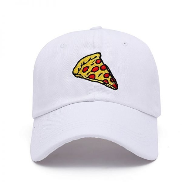 VORON new pizza embroidery dad cap Trucker cotton Hat For Women Men Adjustable Size Baseball Cap 10