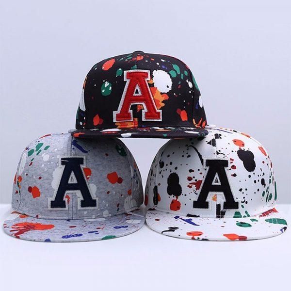 Wholesale Fashion Hip Hop Cap Graffiti Brand Snapback Cap Men Women Baseball Cap Snapback Hat Casquette Planas Gorras 4